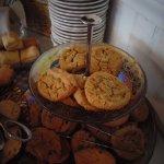 Afternoon tea: assorted cookies