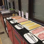 Breakfast buffet - cold cut selection