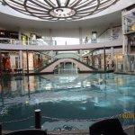 Marina Bay shopping mall canal