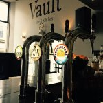 Local draught cider, ale & lager