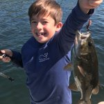 My son and daughter easily caught ten fish between them over the course of an hour!