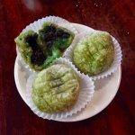 Green tea balls