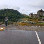 Bagpiper at Eilean Donan Castle