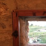 The small window in our dining room