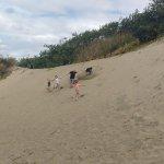 Dune running !