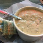 GREAT CHOWDER!