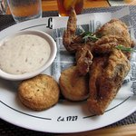 Fried Chicken with Biscuits & Gravy