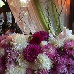Floral arrangements throughout