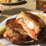 Delicious lobster grilled cheese!!