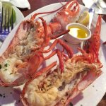 Tuesday Lobster Dinner Special (2lb. lobster for $38, good deal!)
