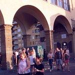 tourist swarm on Ponte Vecchio