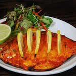 Indian Tandoori Pomfret Fish