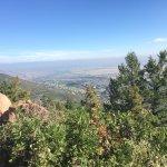 The top of Carpenter's Peak!