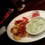 Warm Spinach Dip and Chips - Pass on it!