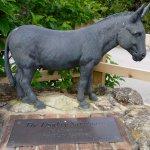 Donkey Sanctuary sculpture