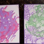 Sample of colored paper you can make there (these made by my son).