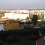 Club Playa Flores: Vista desde la sala