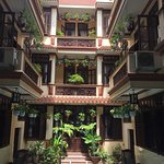 Nhi Nhi Hotel interior space in Hoi An!