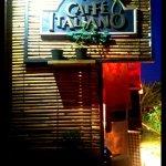 Cafe Italiano... the entrance