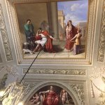 The ceiling paintings are amazing