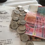 10 Franken Retourgeld in Münzen geht gar nicht