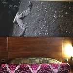 Artwork and bedhead