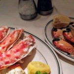 King crab and crabs