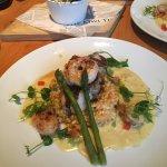 Ausgezeichneter Risotto mit Seafood