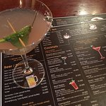 The Tom Yum Martini is really good!