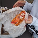 Mike's Fish Market & Lobster Pound - Lobster Roll