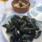 Soute' di cozze (mussel soup)