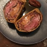 Pie with duck and foie gras