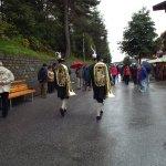 Prep. for Annual National Dress Parade