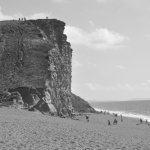 The famous cliff at West Bay