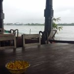 Waterfront seating