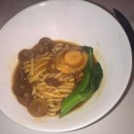 noodles with abalon and mushrooms - again, tasteless