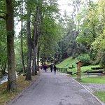 Herrliche Spazierwege im sehr gepflegten Park - sehr gut auch mit Behinderung