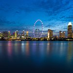 The hotel is located in the heart of Marina Bay, the dynamic playground for the discerning trave