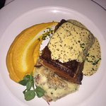 Pork Belly main - side of Nutty Butternut Puree was to die for!