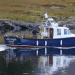 The Lady Jayne, Mull Charters boat for the trips :)