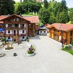 Außenansicht des Hotel Forellenbach