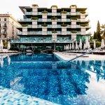 External swimming pool Kempinski Palace Portoroz Istria Slovenia (281586812)