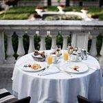 Breakfast on the terrace Kempinski Palace Portoroz (281586837)