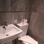 Neat bathroom in the basement bedroom