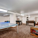 Challenge Someone to A Ping Pong Match in the Downstairs Game Room..