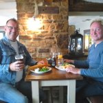 Lunch at The White Horse, Silverstone
