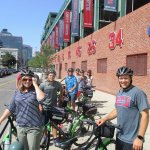 Bike to Boston's famous Fenway Park.