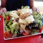 la salade o! caru u casgiu (très copieuse)