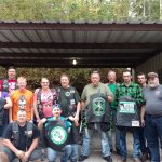 Green Knights Military Motorcycle Club at the Simple Life Campground.