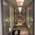 Corridors with rooms like bank vault doors - but they do look good :)